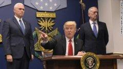 特朗普签署行政命令 将暂停叙利